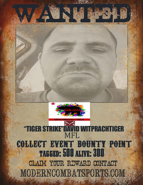 CQB CITY 4/18 WANTED: DAVID WITPRACHTIGER