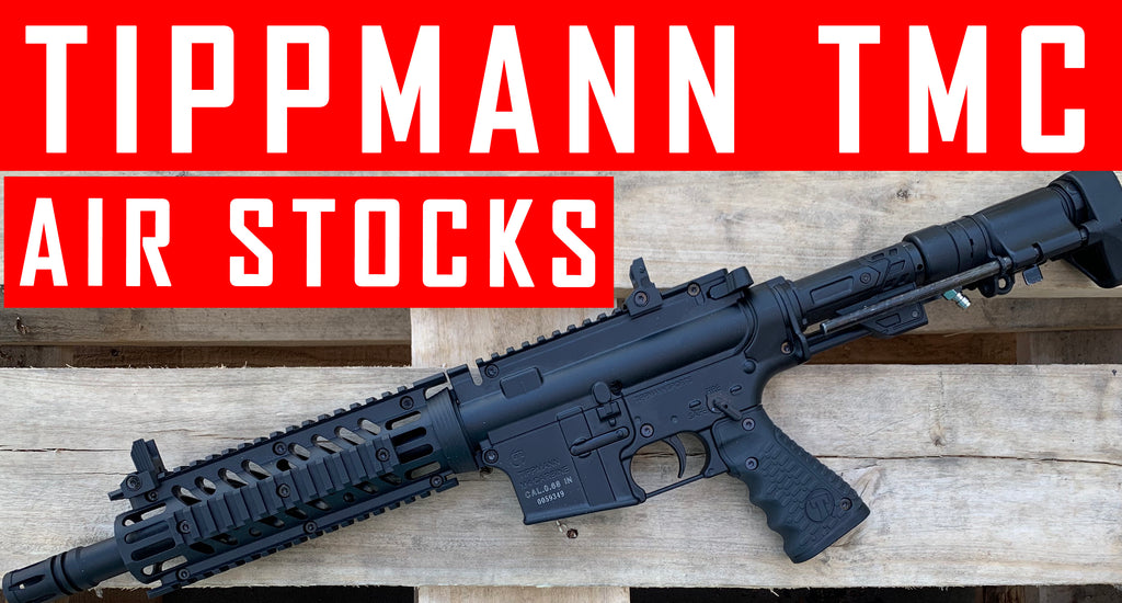 Everything You Want To Know On Tippmann TMC Air Stocks Setups (Remote and Tank In Stock)