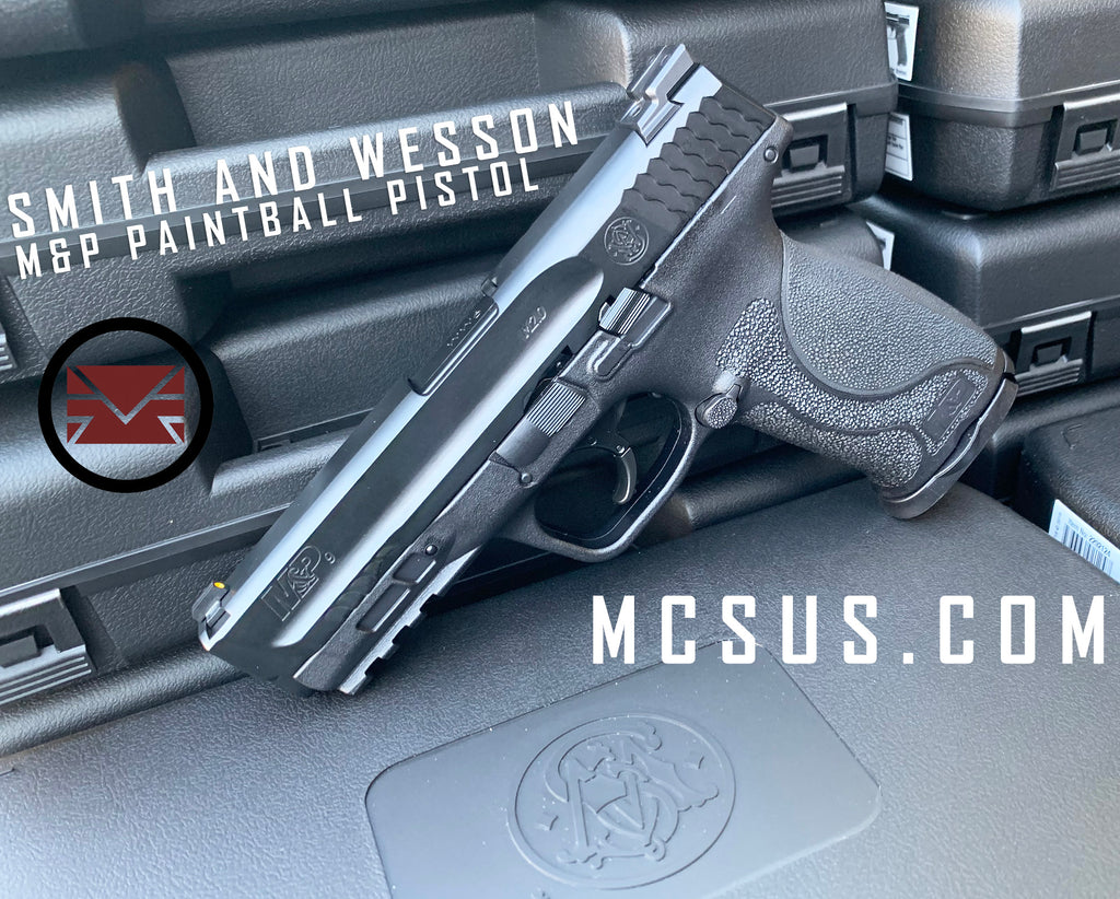 Smith and Wesson M&P Paintball Pistol Now Available!