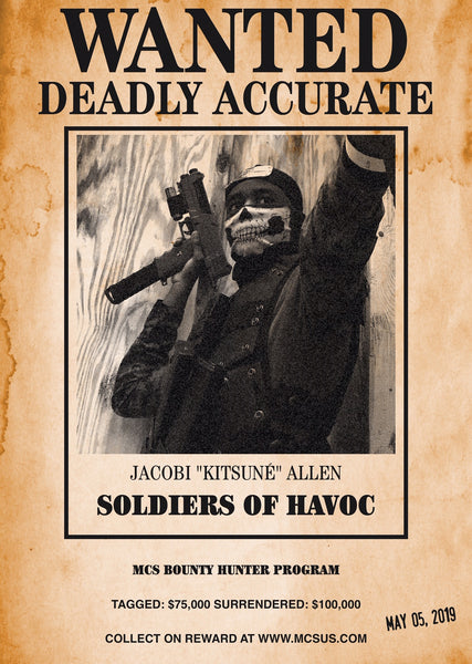 "SOLDIERS OF HAVOC ADVANCED WARFARE: JACOBI ""KITSUNE"" ALLEN"