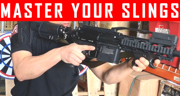 VIDEO: Master your slings, quick and easy way to put on your guns