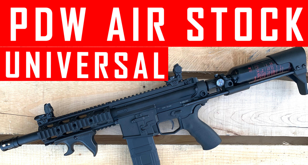 VIDEO: Universal PDW Universal Air Tank Buttstock #MCS