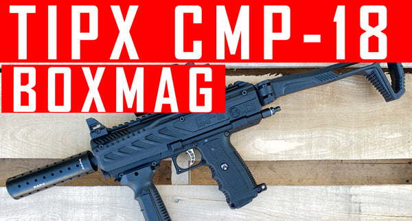 VIDEO: Tippmann Tipx with CMP-18 Box Magazine