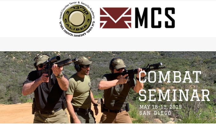 Caliber 3 USA & MCS's 2-Day Combat Seminar (May 18, 2019)