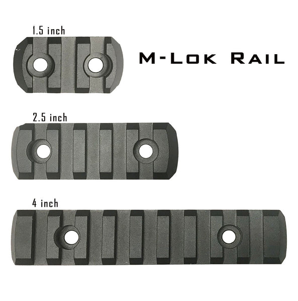 Picatinny Rail For M-LOK Handguard Now Available