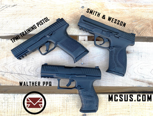 VIDEO: Training Pistols Comparison and Shooting