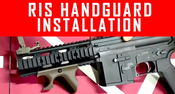 VIDEO: Tactical RIS Handguard Installation