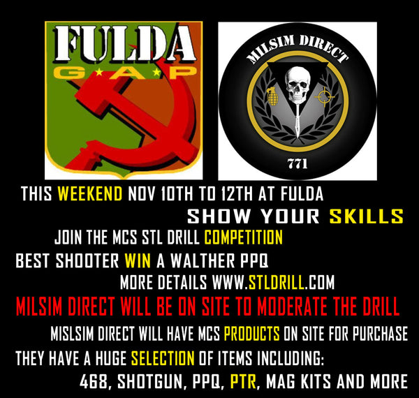 Fulda Gap STL Drill Competition With Milsim Direct