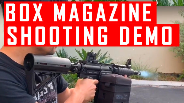 VIDEO: MCS Box Magazine Shooting Demo