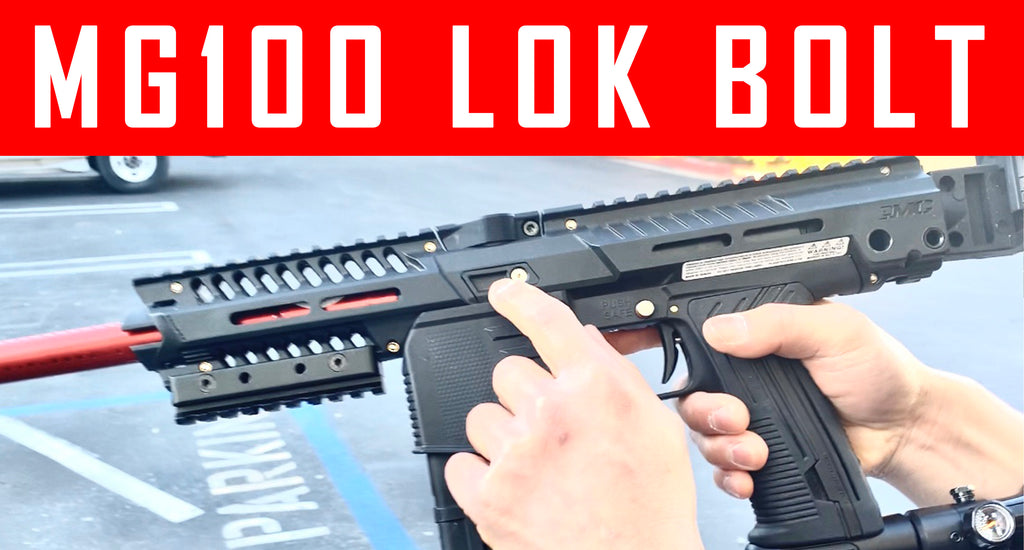 VIDEO: MG100 EMF100 Lok Bolt Shooting Demo
