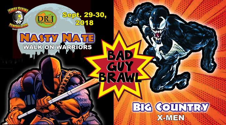 Bad Guy Brawl (2018 September 28)