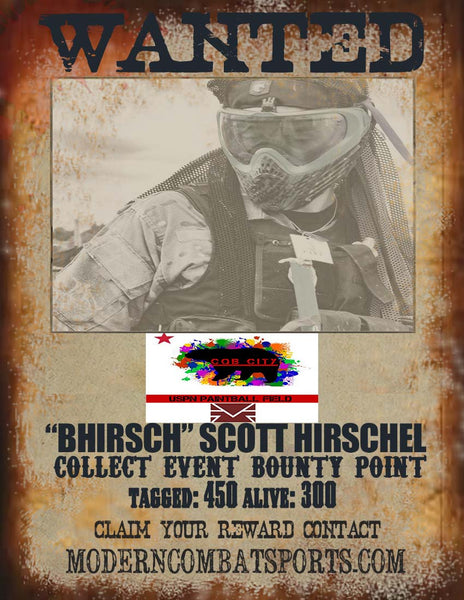CQB CITY 4/18 WANTED: BRANDON Scott Hirschel