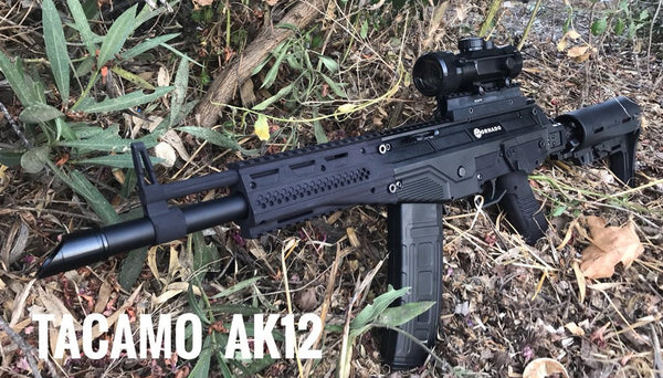 Tacamo AK12 Air Folding Stock Shooting Demo