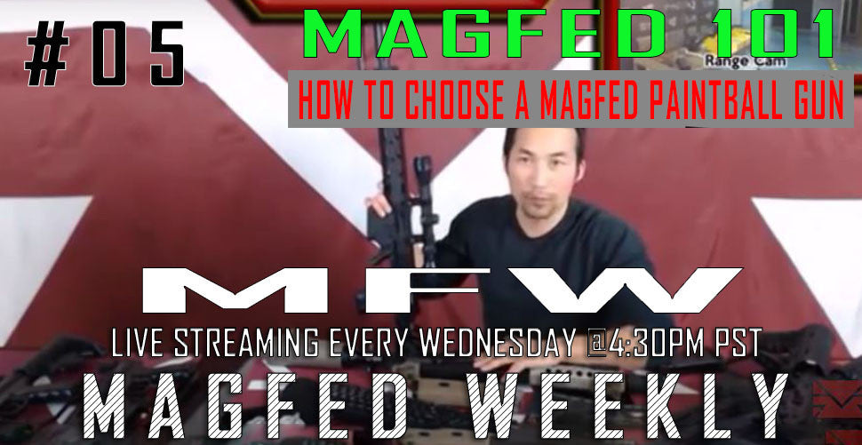 MFW: How to choose a MagFed paintball gun