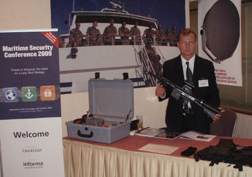 RAP4 At Athens Maritime Security Conference 2009