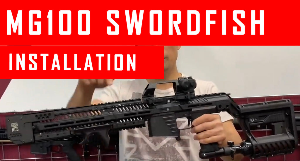 VIDEO: MG100 Swordfish Rail Installation