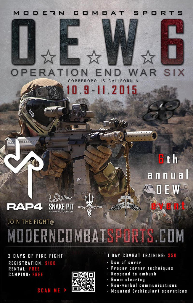 6th Annual Operation End War Event