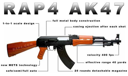 New RAP4 AK47 with METS Technology