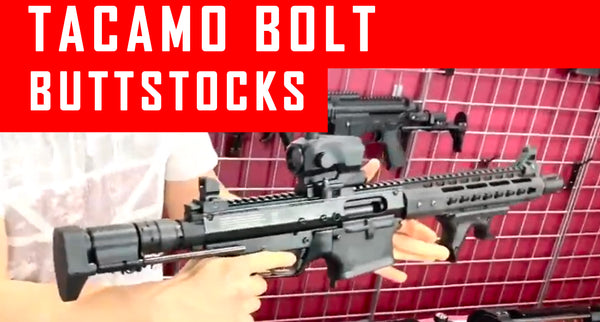 VIDEO: Tacamo Bolt Paintball Gun Buttstock Options