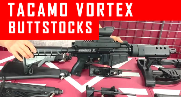 VIDEO: Tacamo Vortex Paintball Gun Buttstock Options