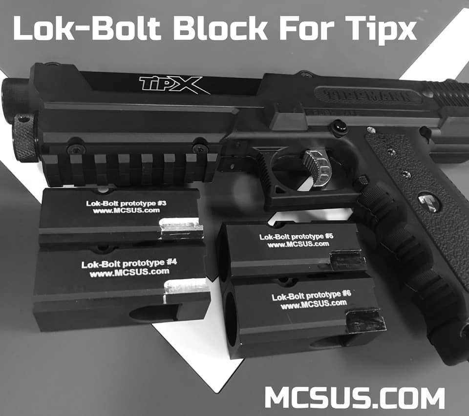 Project: Lok Bolt For Tippmann TIPX and Tippmann TCR