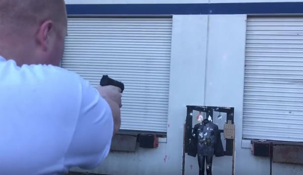 VIDEO:PPQ Paintball Pistol Accuracy Shooting Test