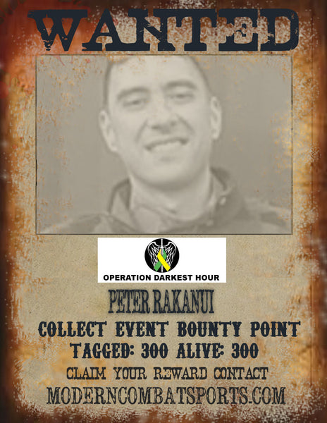 Wanted: Peter Rakanui
