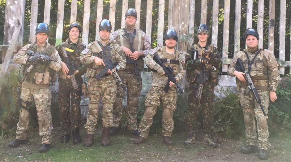 Who Dares Wins Paintball Team