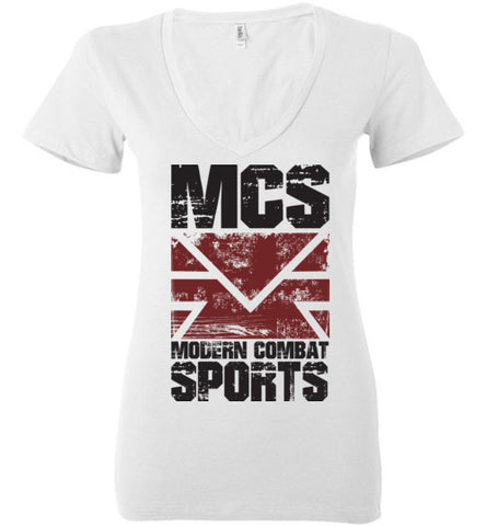 MCS Grunge Ladies Deep V-Neck