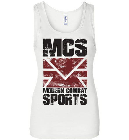 MCS Grunge Ladies Wide Strap Tank