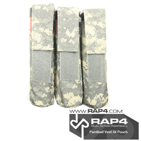 Triple Pod Pouch for Strikeforce/Tactical Ten Vest