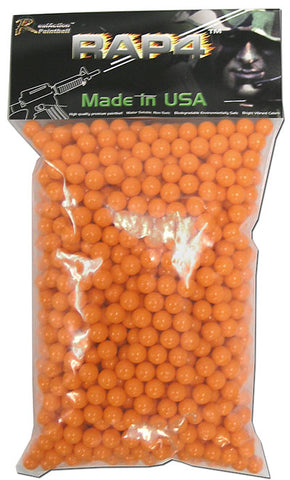 .43 Caliber Paintballs - 800ct (Orange)