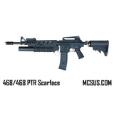 MCS 468 PTR Scarface