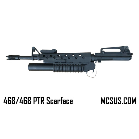MCS 468 PTR Scarface upper