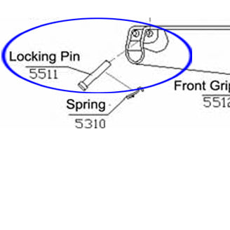5511 Handguard Locking Pin For RAP5
