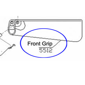 5512 Front Grip For RAP5