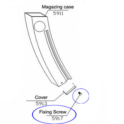 5917 Fixing Screw For RAP5