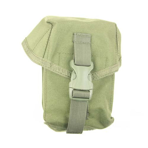 OLIVE DRAB MOLLE Large Multi-Use Utility Pouch