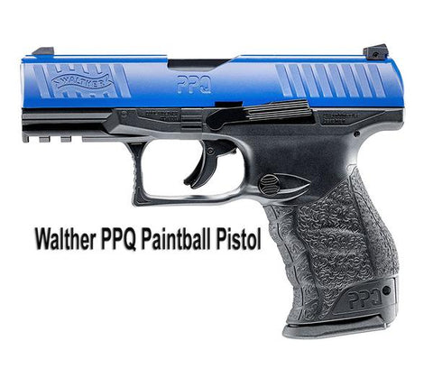 Walther PPQ M2 Paintball Pistol (Blue) (BACK ORDER)