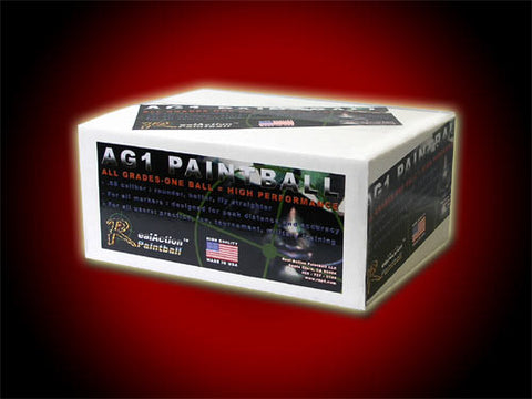 AG1 Mag Fed Grade Paintballs - 2000ct (Green)