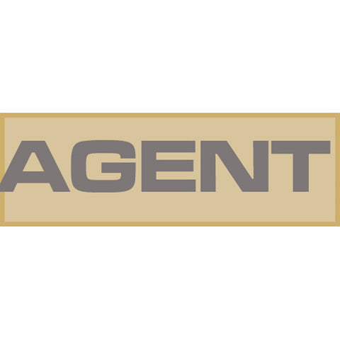 Agent Patch Large (Tan)
