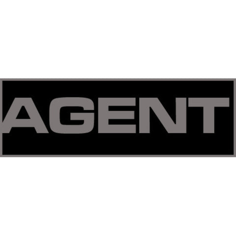 Agent Patch Large (Black)