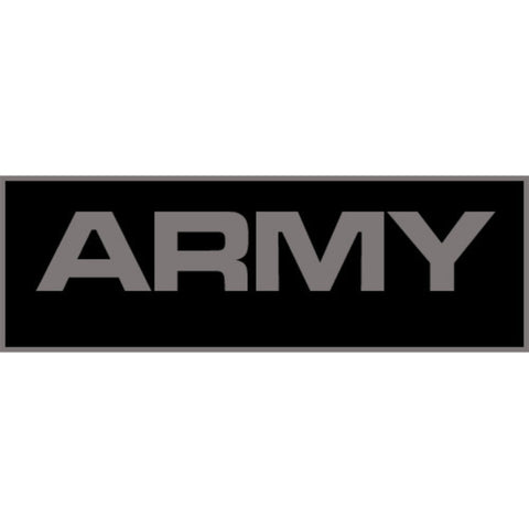Army Patch Small (Black)