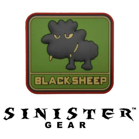 "Sinister Gear ""Black Sheep"" PVC Patch - Color"