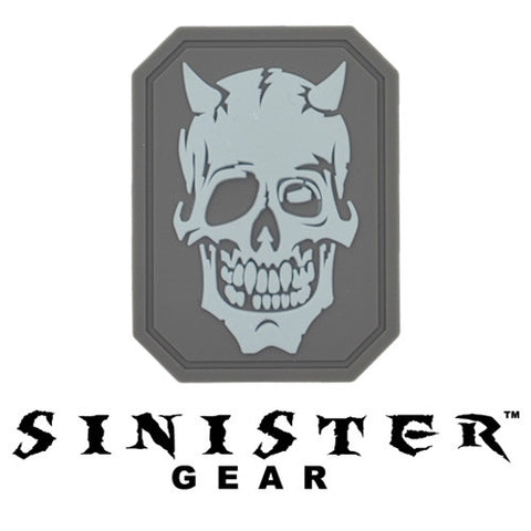 "Sinister Gear ""Bones"" PVC Patch - ACU"