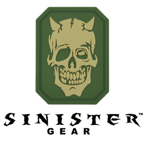 "Sinister Gear ""Bones"" PVC Patch - OD"