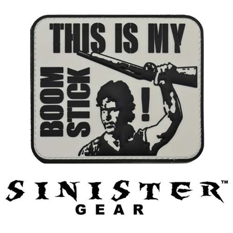 "Sinister Gear ""Boomstick"" PVC Patch - SWAT"