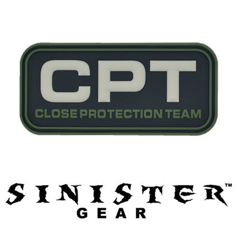 "Sinister Gear ""CPT"" PVC Patch - Dark"