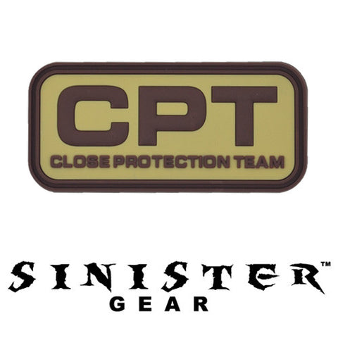 "Sinister Gear ""CPT"" PVC Patch - Light"