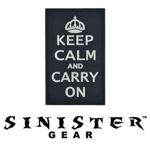 Sinister Gear 'Carry On' PVC Patch - SWAT
